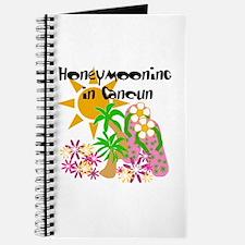 Honeymoon Cancun Journal