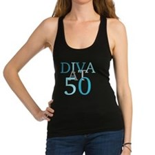 Diva At 50 Racerback Tank Top