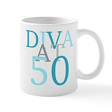 Diva At 50 Mug