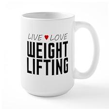 Live Love Weight Lifting Mug