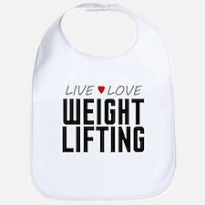 Live Love Weight Lifting Bib
