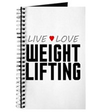 Live Love Weight Lifting Journal