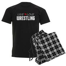 Live Love Wrestling Pajamas