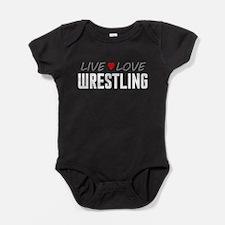 Live Love Wrestling Baby Bodysuit