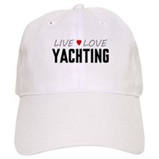 Live Love Yachting Cap