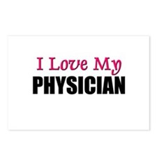 I Love My PHYSICIAN Postcards (Package of 8)