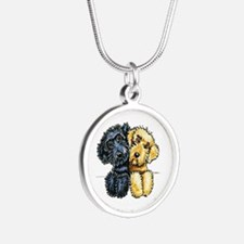 Labradoodles Lined Up Necklaces
