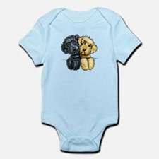 Labradoodles Lined Up Body Suit