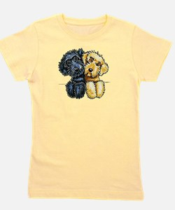 Labradoodles Lined Up Girl's Tee