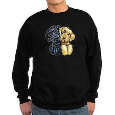 Labradoodles Lined Up Sweatshirt