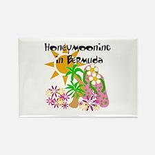 Honeymoon Bermuda Rectangle Magnet