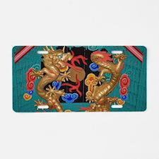 Dragons Aluminum License Plate