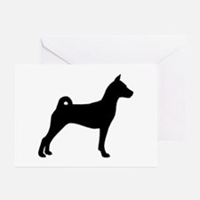 Basenji Dog Greeting Cards (Pk of 10)