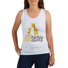 I'm going to be a big sister Women's Tank Top