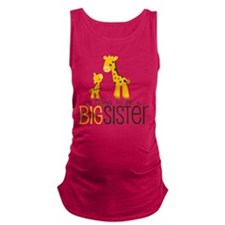 I'm going to be a big sister Maternity Tank Top