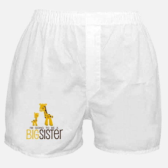 I'm going to be a big sister Boxer Shorts