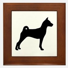 Basenji Dog Framed Tile