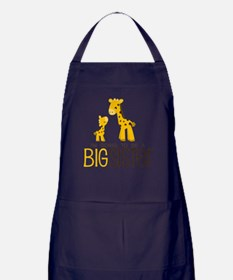 I'm going to be a big sister Apron (dark)
