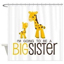 I'm going to be a big sister Shower Curtain