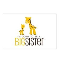 I'm going to be a big sis Postcards (Package of 8)