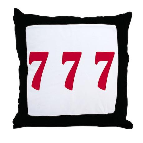777 Throw Pillow