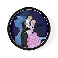 Barbier Lovers Proposal - Oui Wall Clock