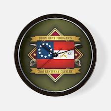 2nd Kentucky Cavalry Wall Clock