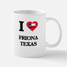 I love Friona Texas Mugs