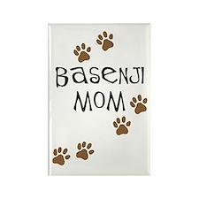 Basenji Mom Rectangle Magnet