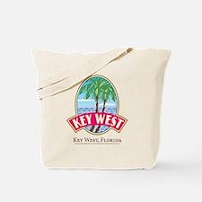 Retro Key West - Tote or Beach Bag