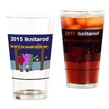 Iknitarod 2015 Drinking Glass