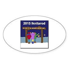 Iknitarod 2015 Decal