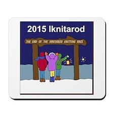 Iknitarod 2015 Mousepad
