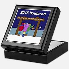 Iknitarod 2015 Keepsake Box