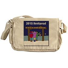 Iknitarod 2015 Messenger Bag