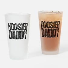 Hoosier Daddy Drinking Glass