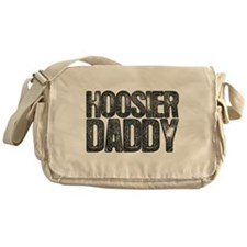 Hoosier Daddy Canvas Messenger Bag