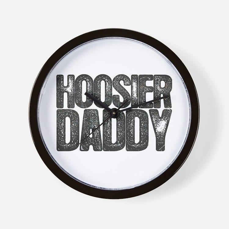 Hoosier Daddy Wall Clock