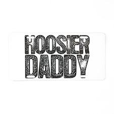 Hoosier Daddy Aluminum License Plate
