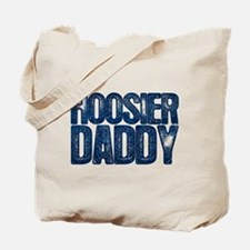 Blue Hoosier Daddy Tote Bag