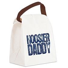Blue Hoosier Daddy Canvas Lunch Bag