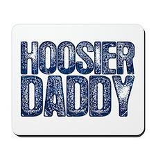 Blue Hoosier Daddy Mousepad