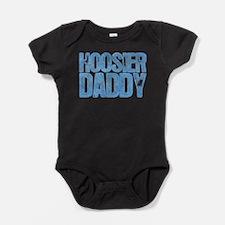 Blue Hoosier Daddy Baby Bodysuit