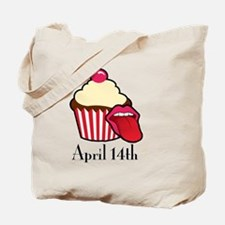 Cake and Cunnilingus Day Tote Bag