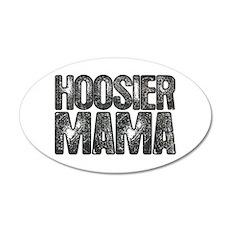 Hoosier Mama 38.5 x 24.5 Oval Wall Peel