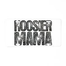 Hoosier Mama Aluminum License Plate