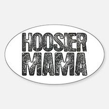 Hoosier Mama Oval Decal