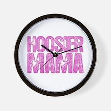 Hoosier Mama Wall Clock