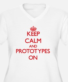 Keep Calm and Prototypes ON Plus Size T-Shirt