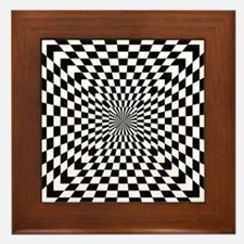 Optical Checks Framed Tile